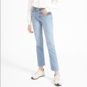 Everlane cheeky straight ankle jeans